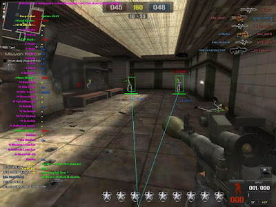 Cheat Point Blank Garena Indonesia 28, 29 Agustus 2015 VIP Auto HS, Aim, Wallhack