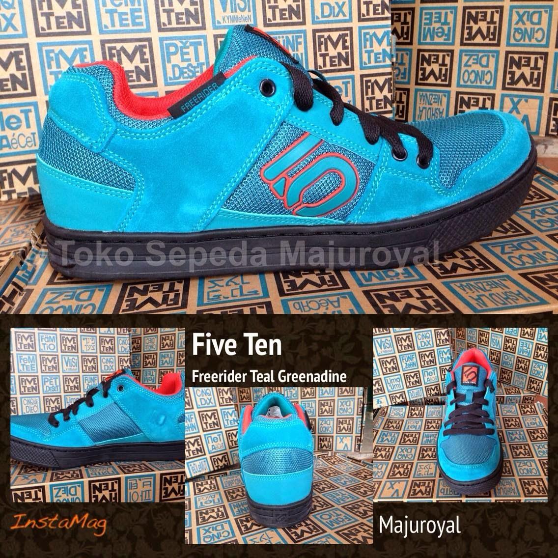 Sepatu Sepeda Five Ten Freerider Teal Grenadine