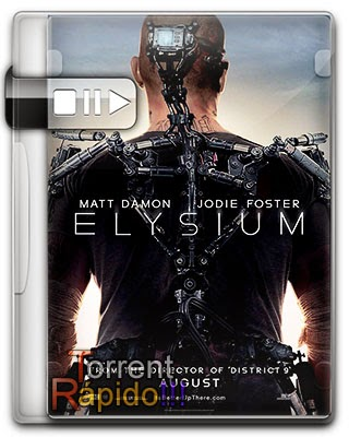 Download Capa 3D Filme Elysium 2013