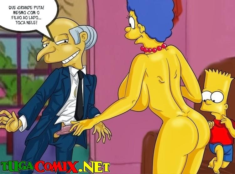 Quadrinho Erotico Os Simpsons Hentai Imagem