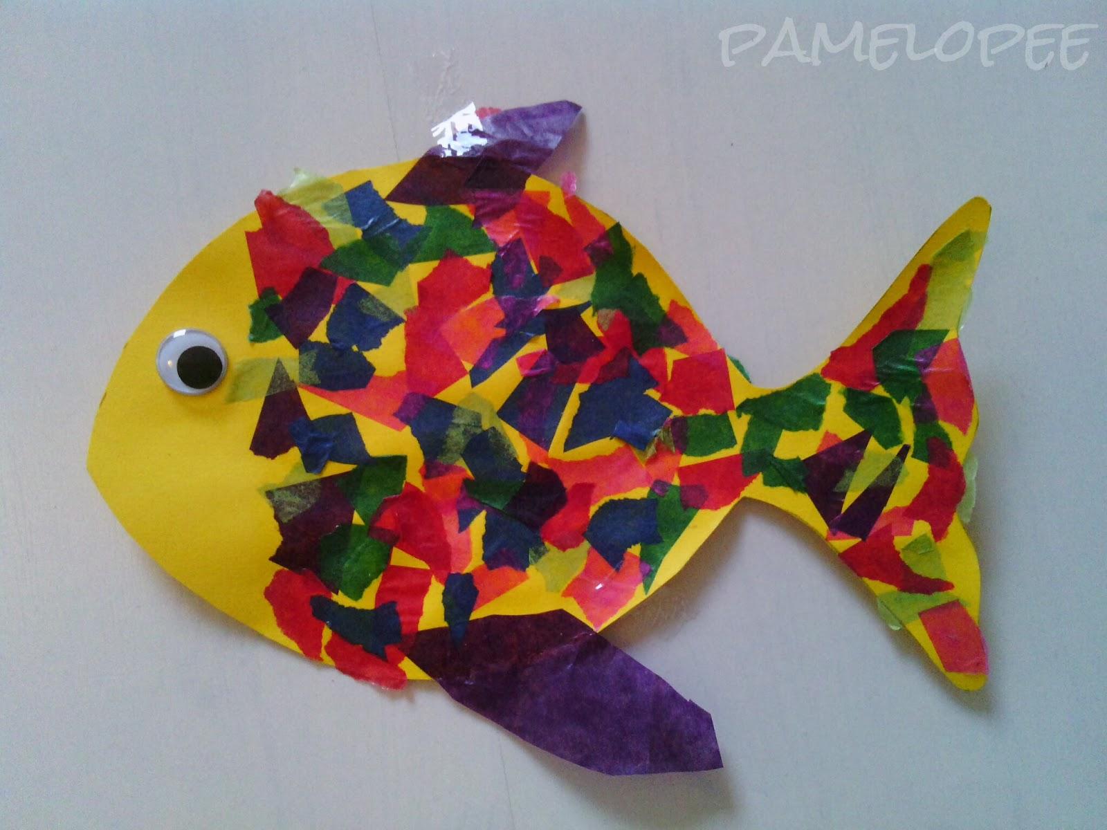 pamelopee fisch am freitag regenbogenfisch. Black Bedroom Furniture Sets. Home Design Ideas