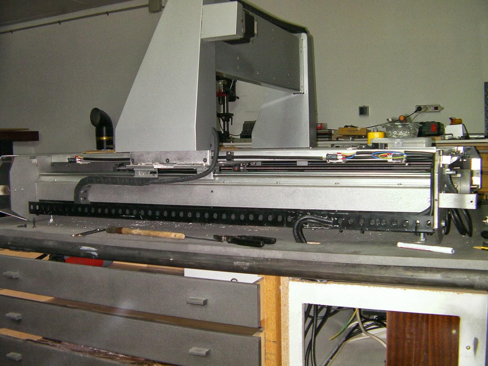 Fresadora cnc 4 ejes casera router 4 parte - Como camuflar cables ...