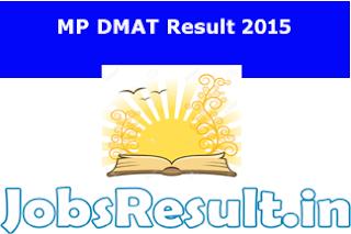 MP DMAT Result 2015