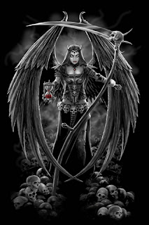 Angel of Death iPhone Wallpaper