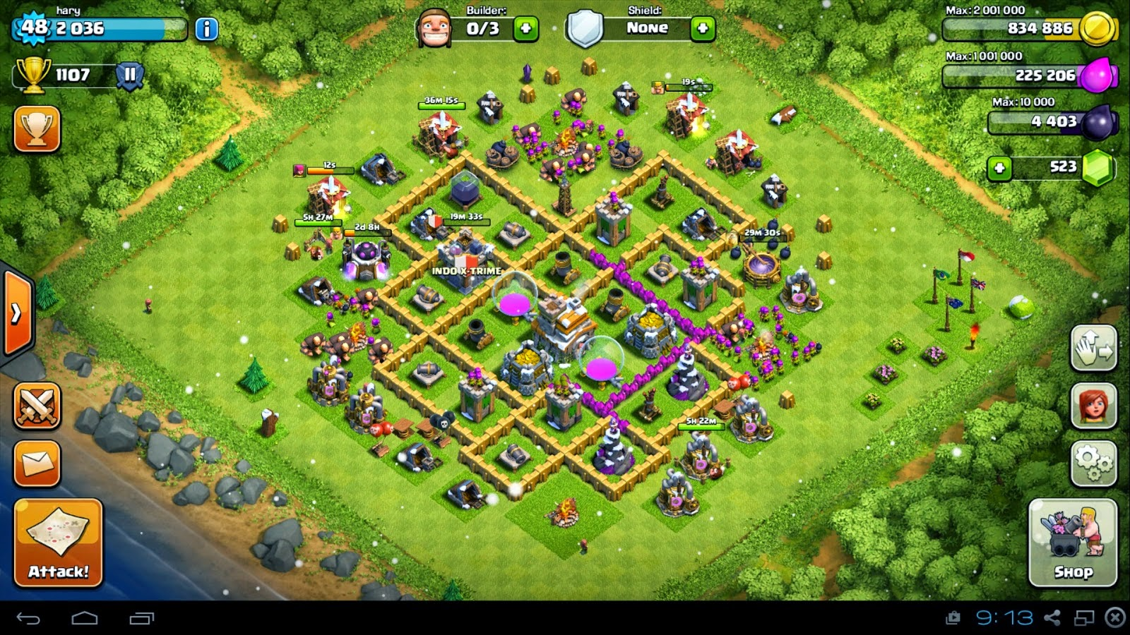 Base TH7 Terkuat COC