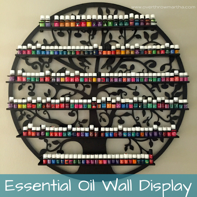 Essential Oil Display and Storage #youngliving #essentialoils