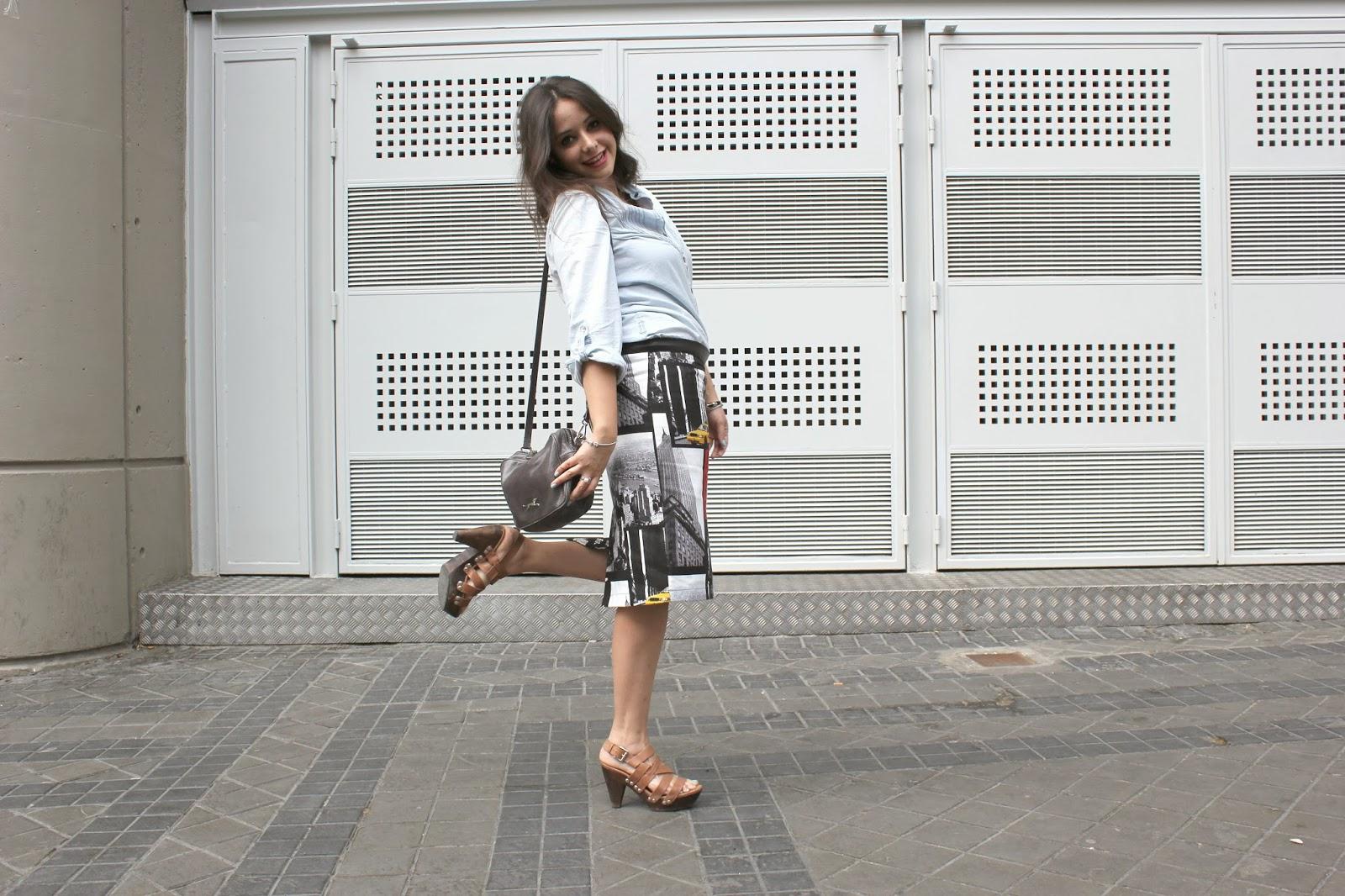 DIY Costura: Cómo hacer falda tubo NY (patrón gratis incluido ...