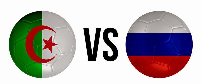 Argélia 1 - 1 Rusia (eliminado). Grupo H