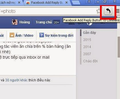Cách tạo reply comments facebook mới nhất 2015