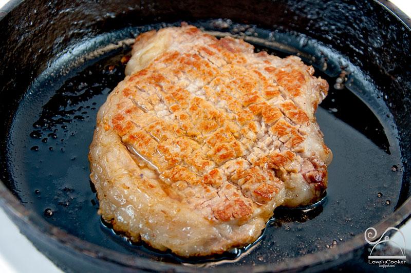 Отбивные из свинины пошаговый рецепт с в духовке