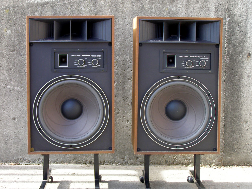 Realistic Mach One Speaker http://seventiesstereo.blogspot.com/2012/02/realistic-mach-one-4029-photo.html