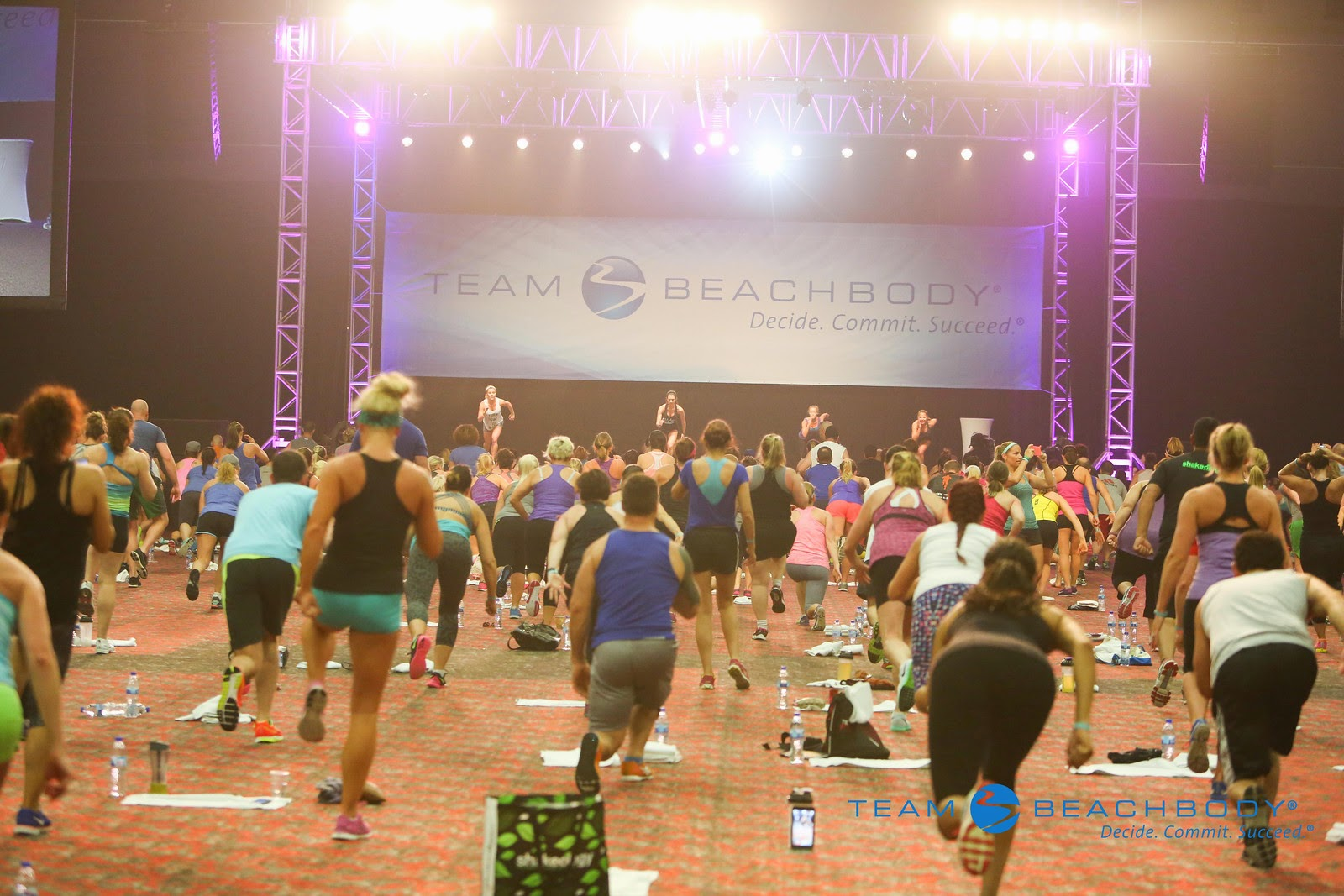 beachbody success club trip, live workout
