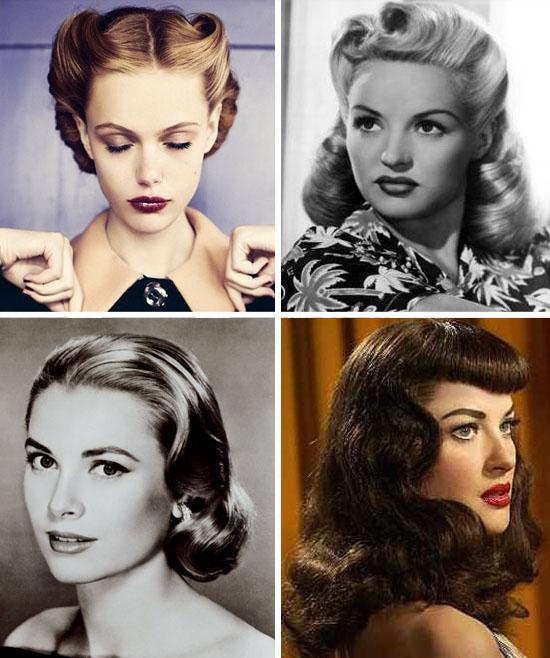 Acconciature capelli ricci anni 50