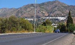 Mijas exige a la Junta que mejore la seguridad vial en la carretera A-387