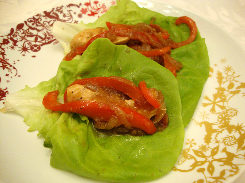 my back pages: chicken stir-fry wraps