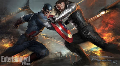 captain america the winter soldier, concept art