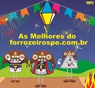"""BAIXE O CD """"AS MELHORES DO SITE FORROZEIROSPE - SÃO JOÃO 2013"""""""