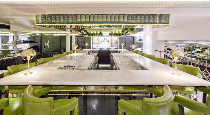 Review piccolino london on the inside for Piccolino hotel decor