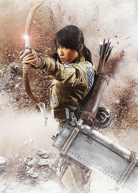 """Nanami Sakuraba es Sasha en la película de imagen real de """"Ataque a los Titanes"""""""