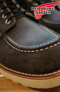 """RED WING 8890  """"6 MOC TOE""""   CHARCOAL ROUGH&TOUGH"""