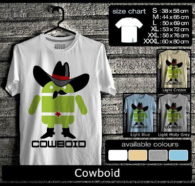 kaos distro android cowboid