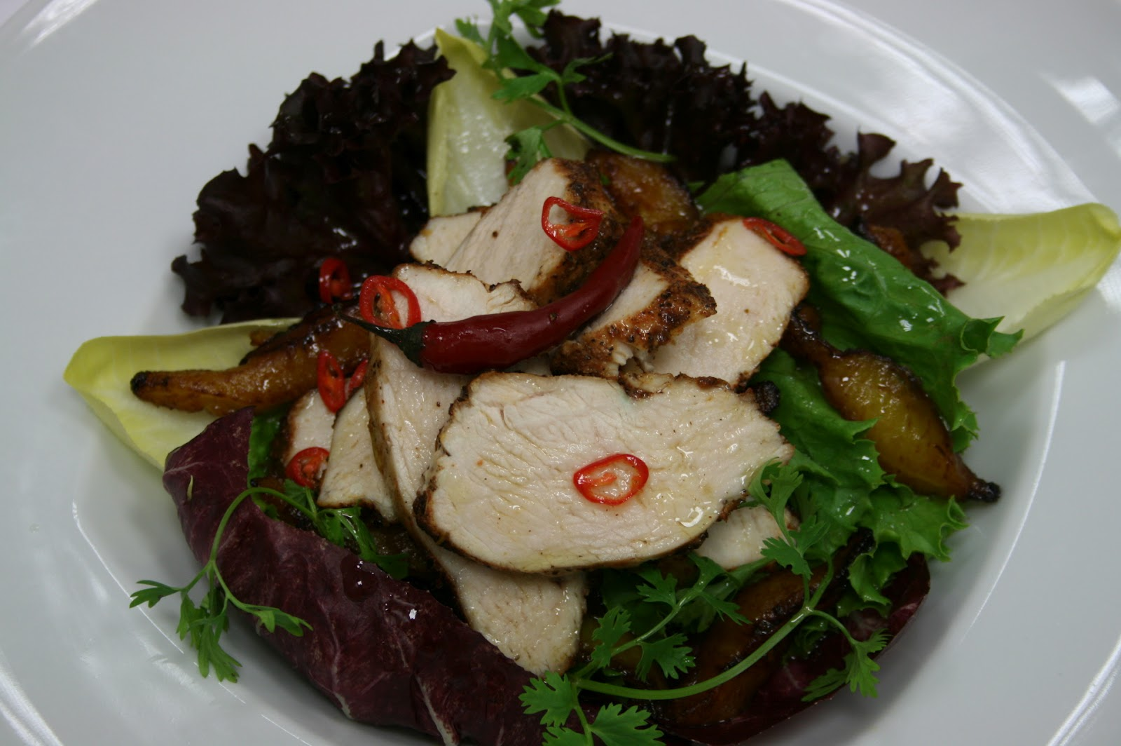 Country Gourmet Traveler: Cajun Chicken Salad