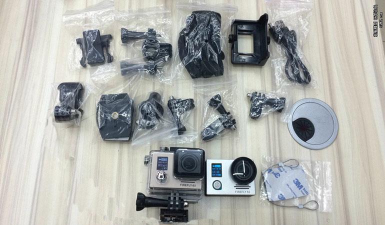 Firefly 6S 4K Sport HD Camera Accessories