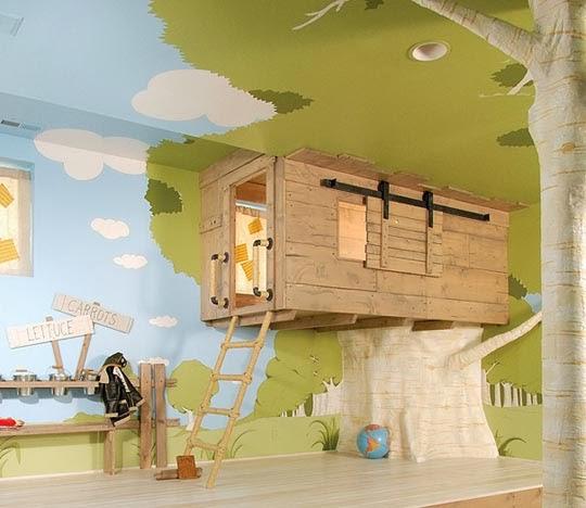 decoração-inusitada de quarto infantil