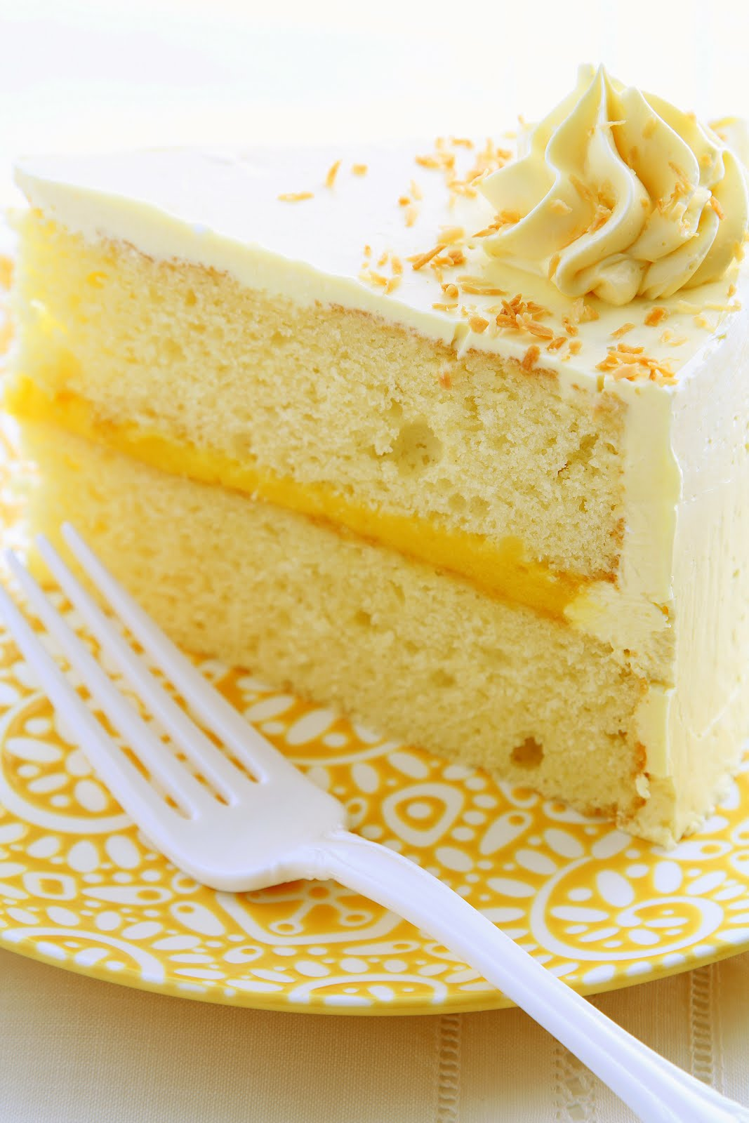 Cake With Fruit Pulp : Passion Fruit Curd Cake Recipe