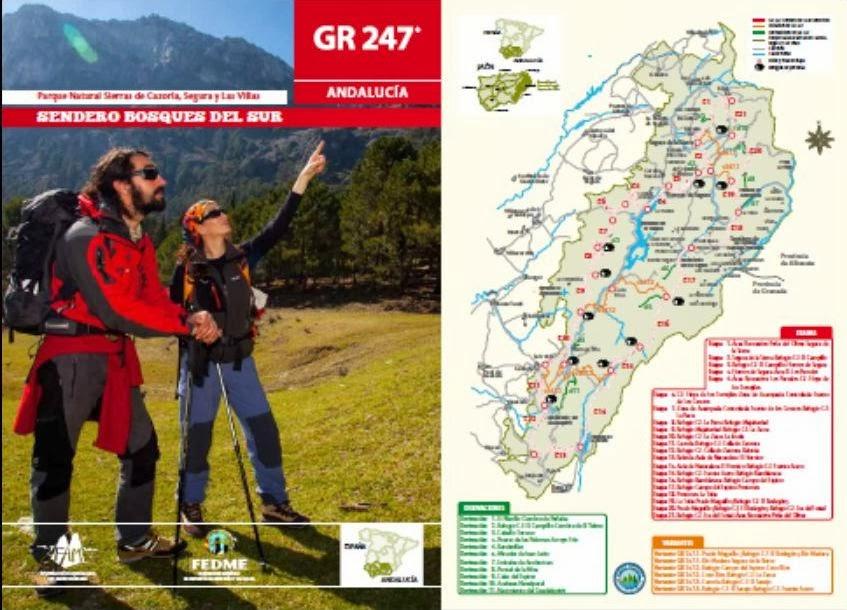 Guía del Sendero GR 247 Bosques del Sur