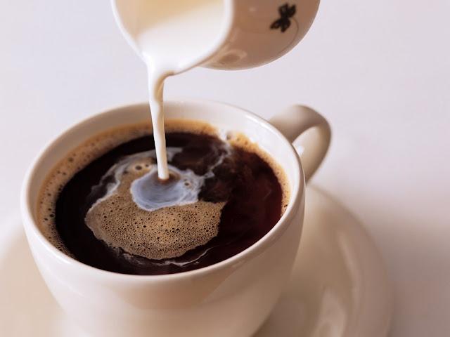 Café e leite, juntos são uma maravilha