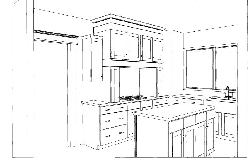 Charming ... Cabinets Per Linear Foot StormupNet. I Married A Tree Hugger Our Kitchen  Layout