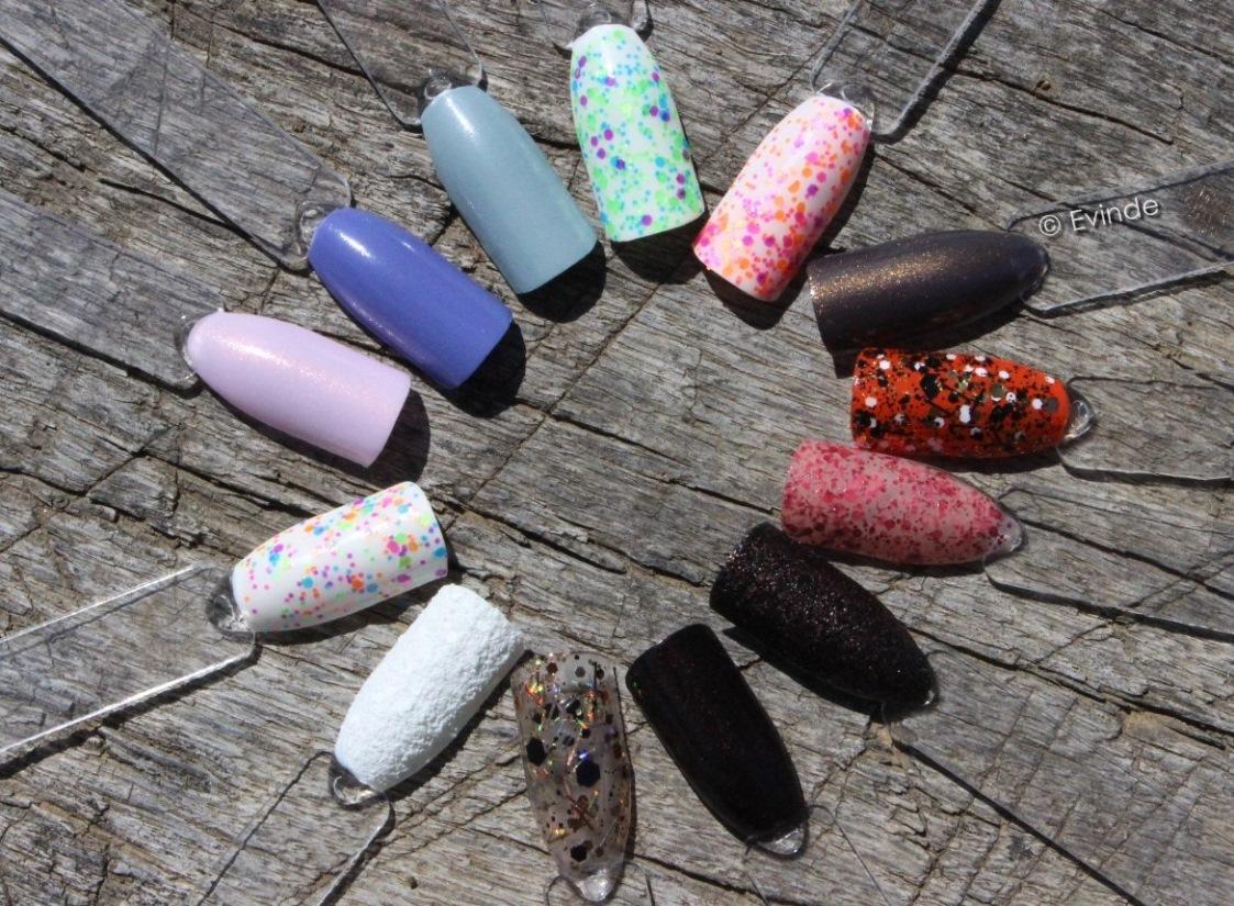 nail polish swatch sticks