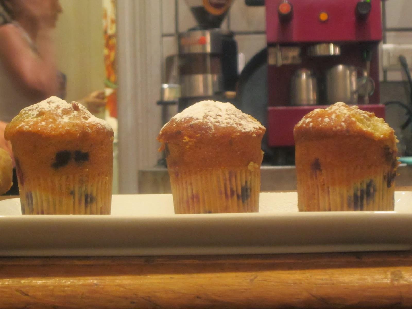 Muffins de Yoghurt y Frutos Rojos