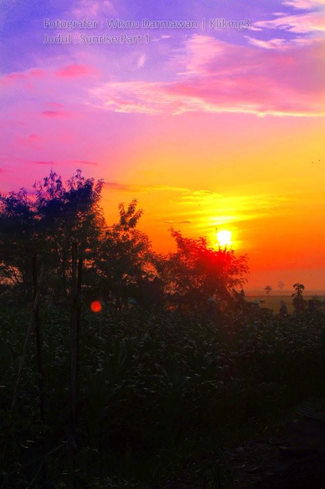 Judul Album : Sunrise Part 1 | Fotografer : Klikmg3 ( Wisnu Darmawan ) 14Thn