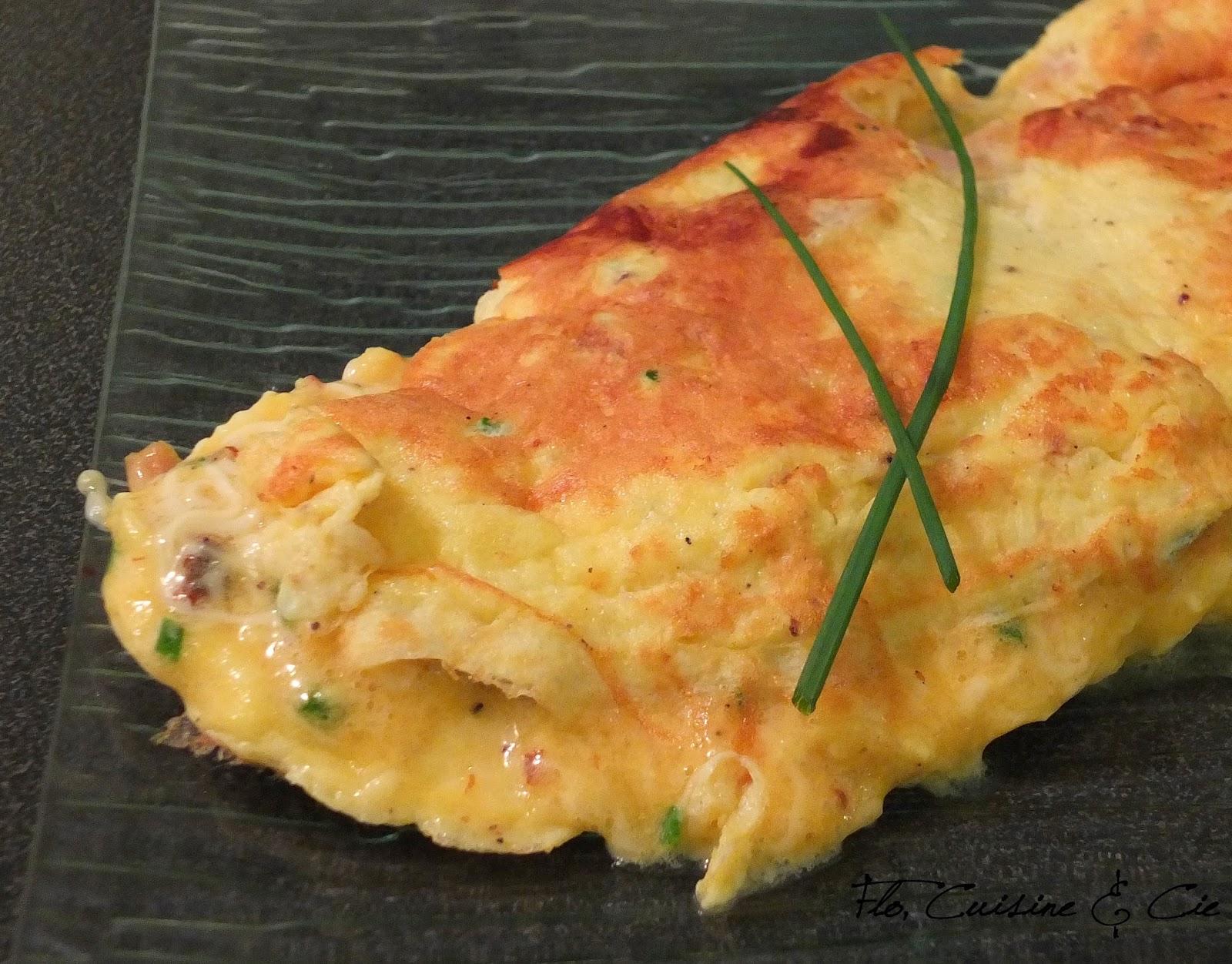 Flo Cuisine Cie Omelette Poulet Fromage Et Ciboulette