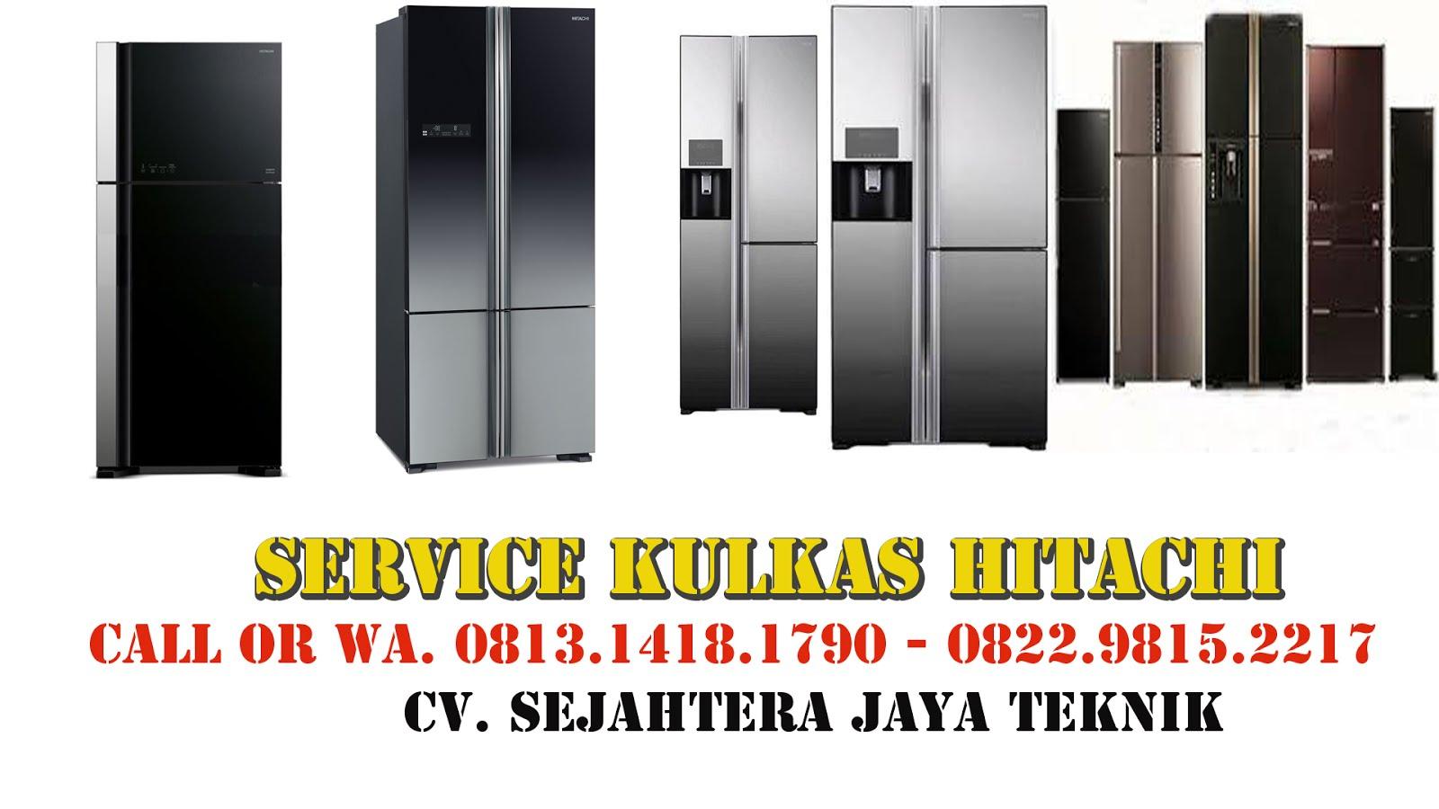 Service Kulkas Hitachi Jakarta Pusat