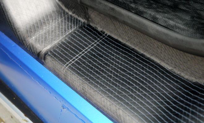 BMW i3 Rex carbon fibre