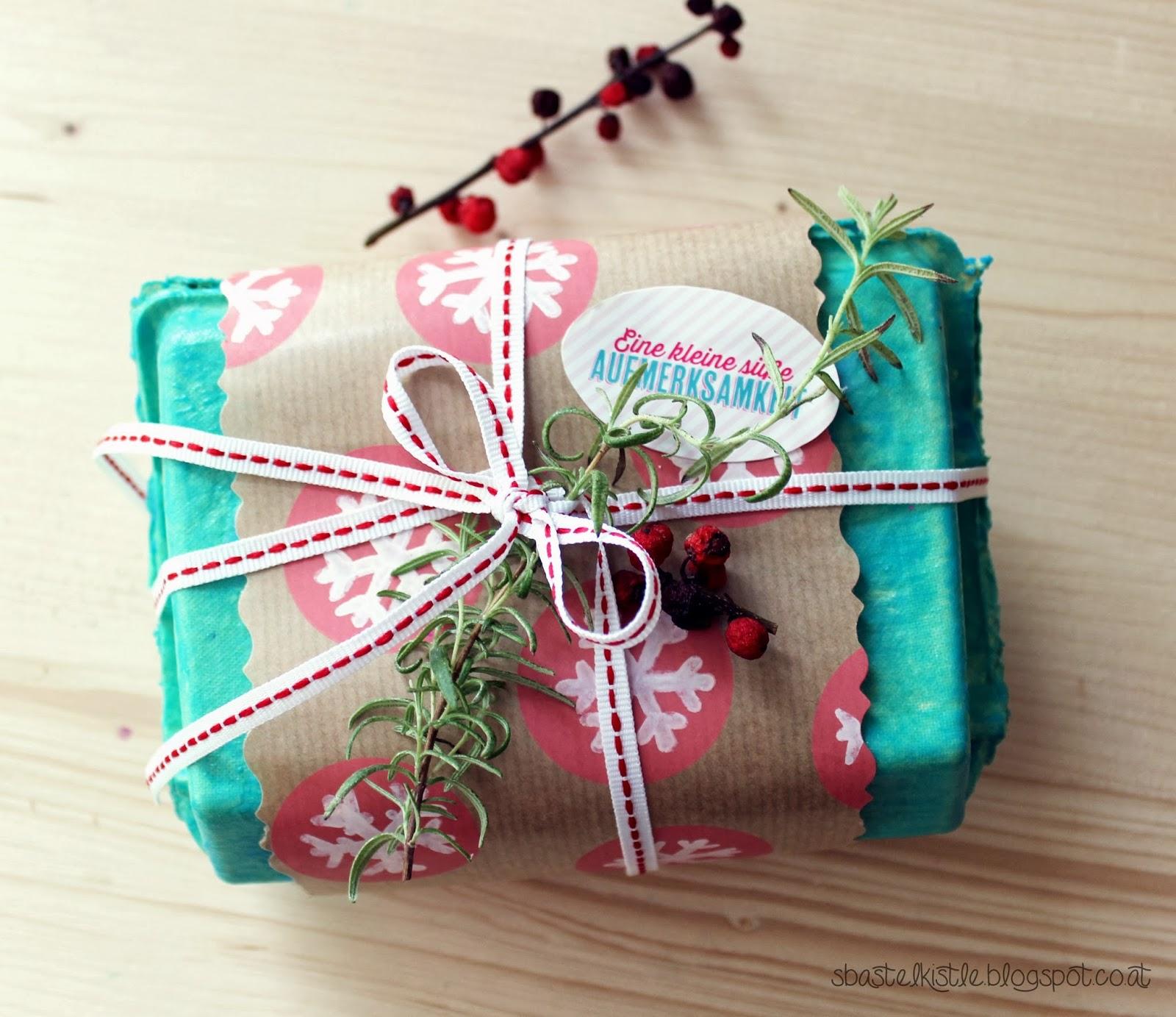 s\'Bastelkistle: Last Minute Weihnachtsgeschenke