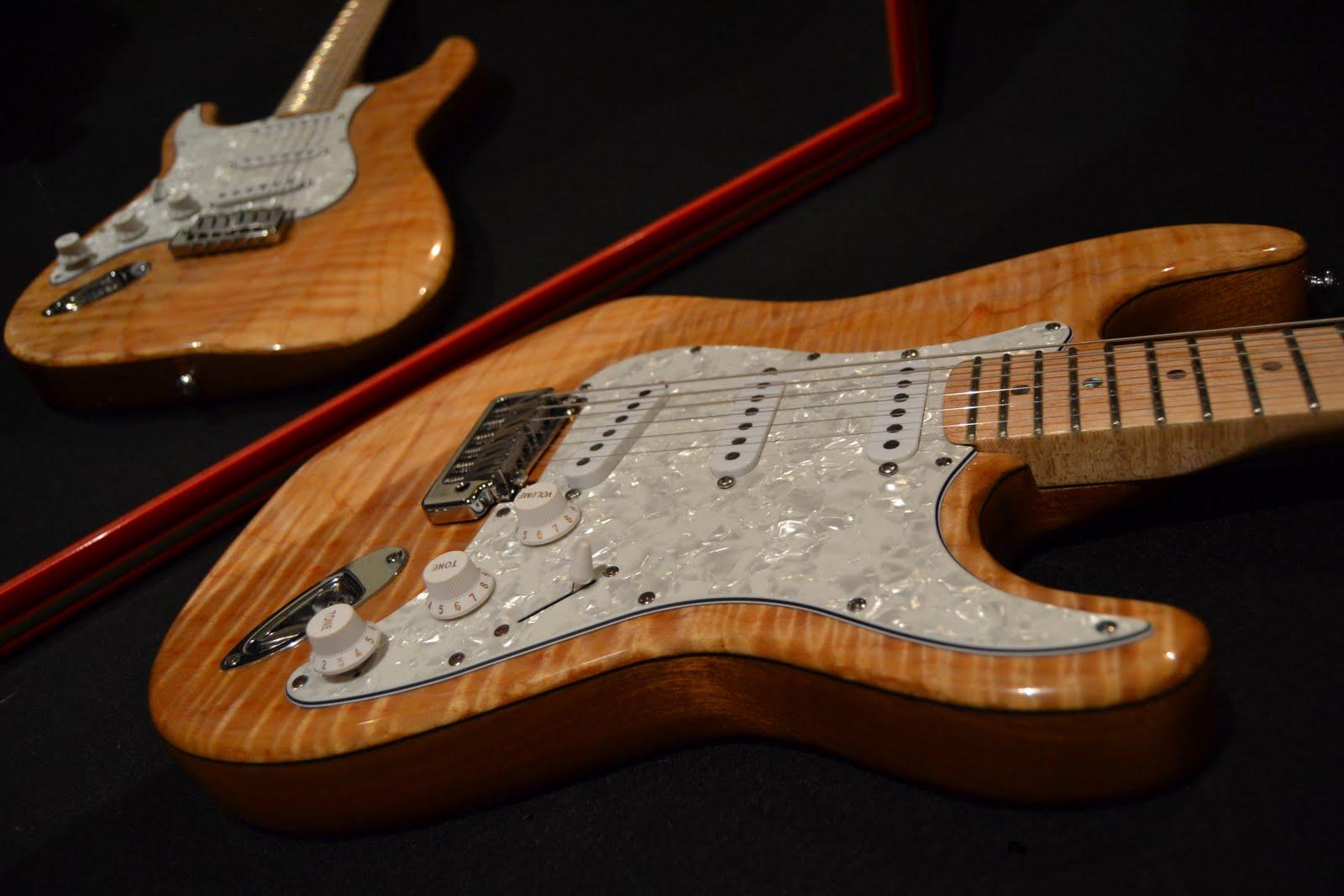 Luthier ricardo terra for Guitarras de luthier