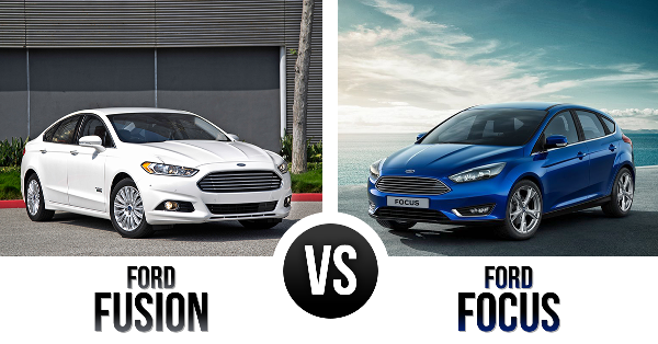 Ford Focus Vs Ford Fusion