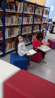 crianças, livros, biblioteca