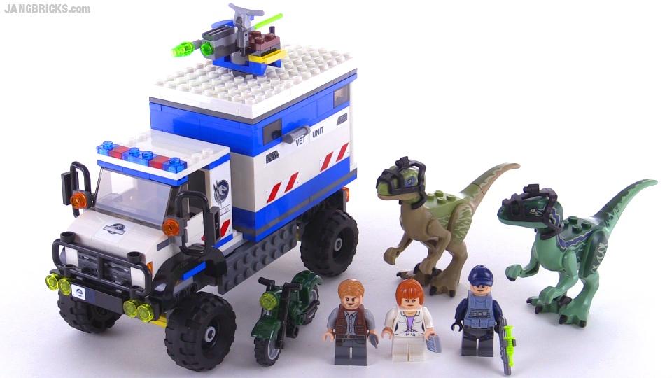 Raptor tracking lego jurassic world