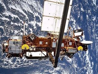 caida de un satelite