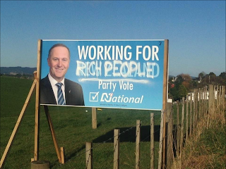 Working for (Rich People): Party Vote National