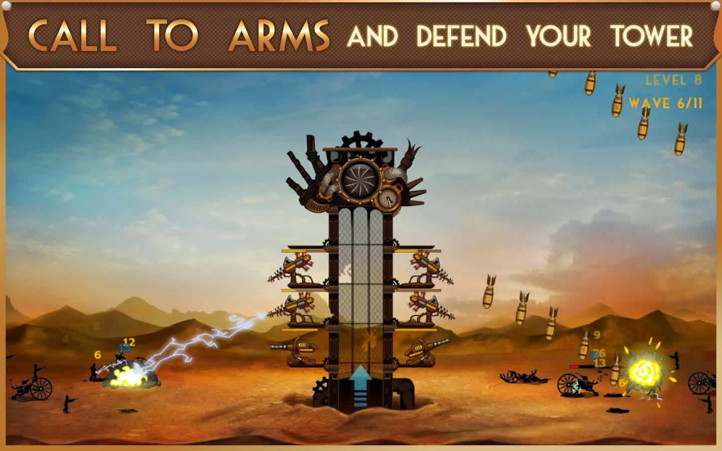 Steampunk Tower v1.1.0 Android Hile MOD APK Full İndir