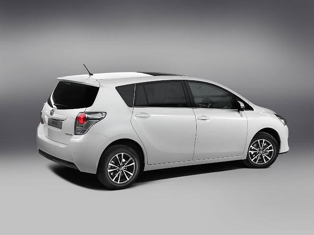 Tha New Toyota Verso back