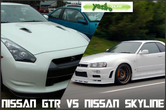 Gambar Nissan GTR dan Skyline