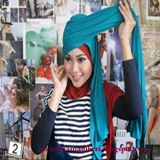 Cara Memakai Jilbab Pashmina Casual Dan Modis Edisi 3