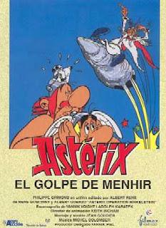 Astérix y el Golpe del Menhir